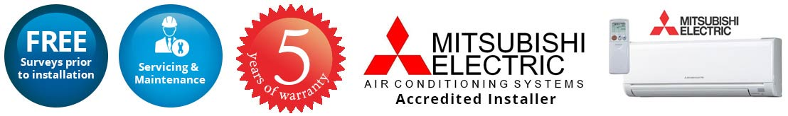 mitsubishi air conditioning Banbury